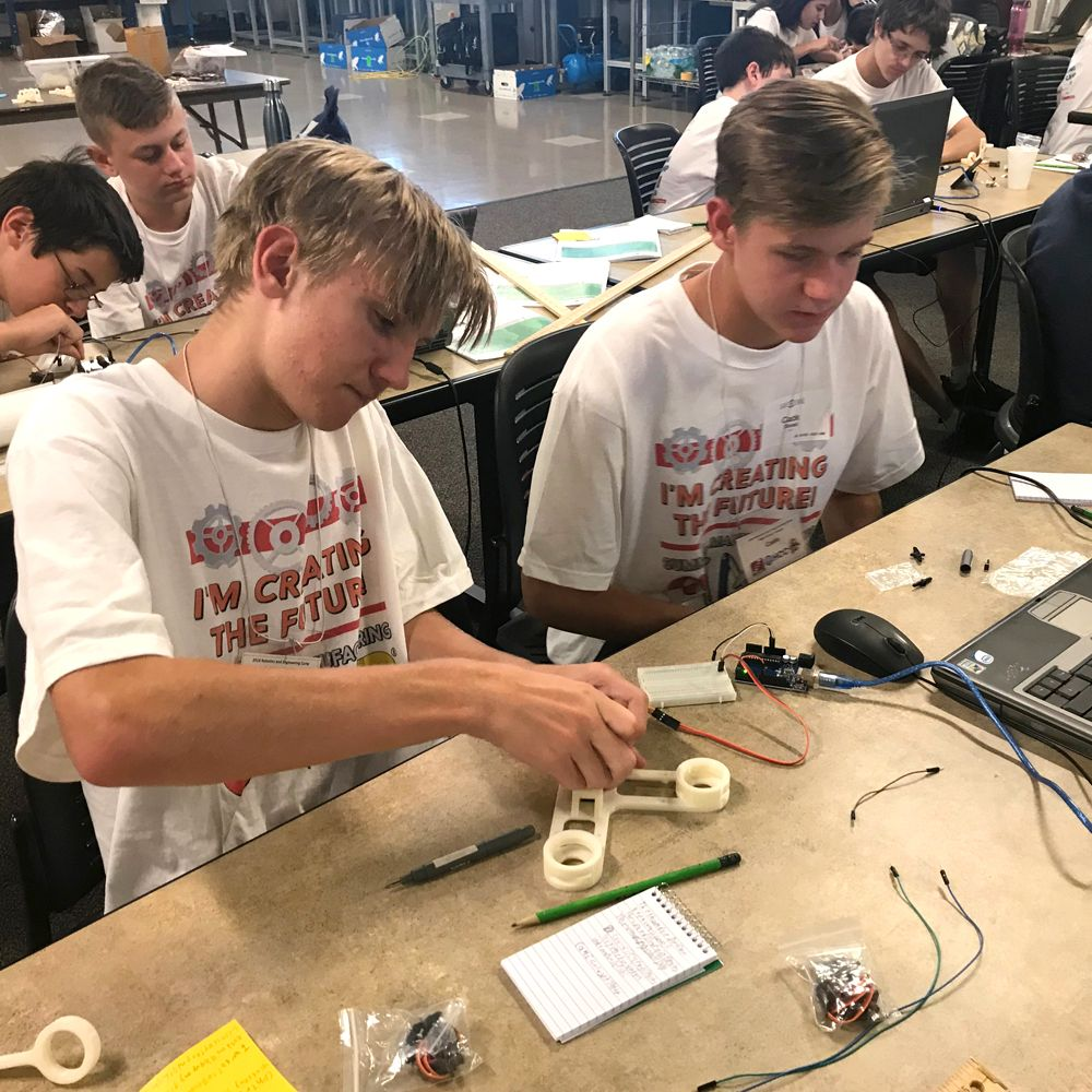 Nuts, Bults & Thingamajigs supports manufacturing camps